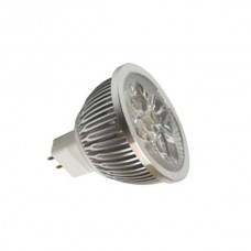 MR16 LED SPOTLIGHTS,DC12V 4W,C.CT 3000K,MR16 BASE, DIMMABLE 280LM
