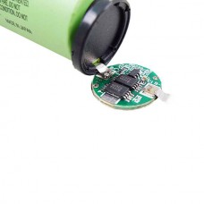 LIMNO2 CELL 18650 - 3.7V 2600MAH 0,5C WITH PCB (ON TOP)