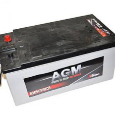 AGM STARTBATTERIJ 185AH 1200A +LK START/STOP PERFORMANT
